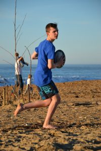 Rugby plage